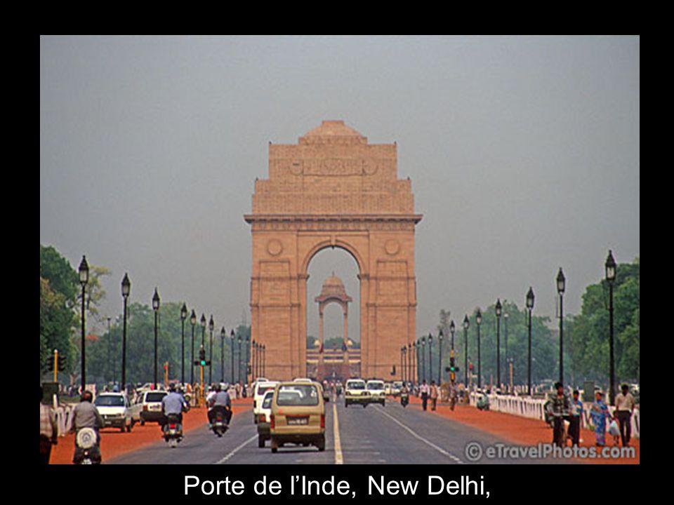 Porte de l'Inde, New Delhi,