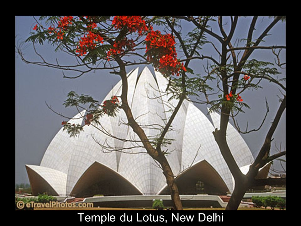 Temple du Lotus, New Delhi