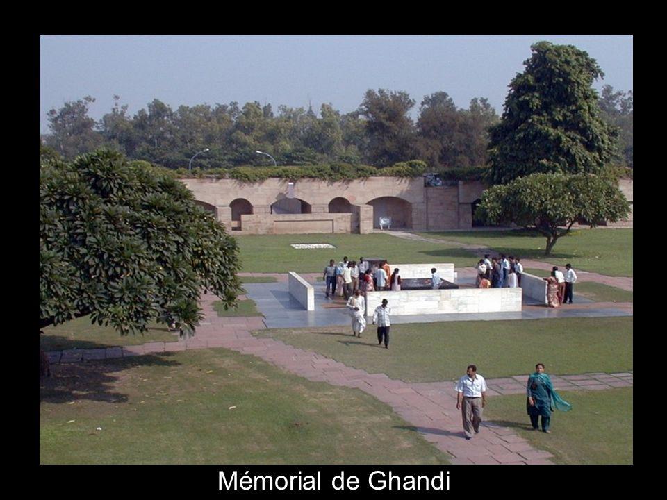 Mémorial de Ghandi