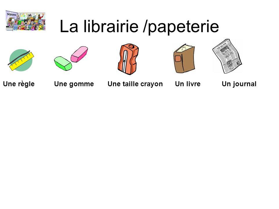 La librairie /papeterie