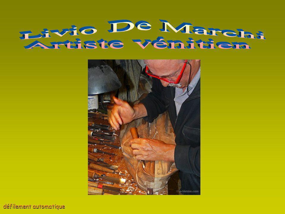 Livio De Marchi Artiste vénitien défilement automatique
