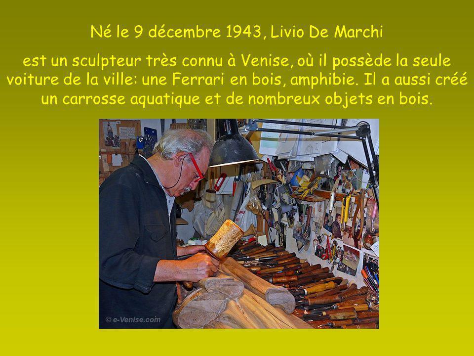 Né le 9 décembre 1943, Livio De Marchi