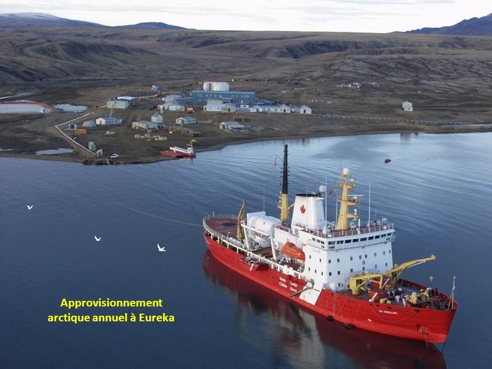 Approvisionnement arctique annuel à Eureka