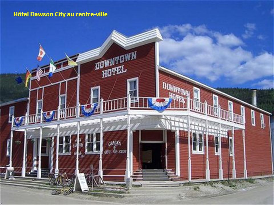 Hôtel Dawson City au centre-ville