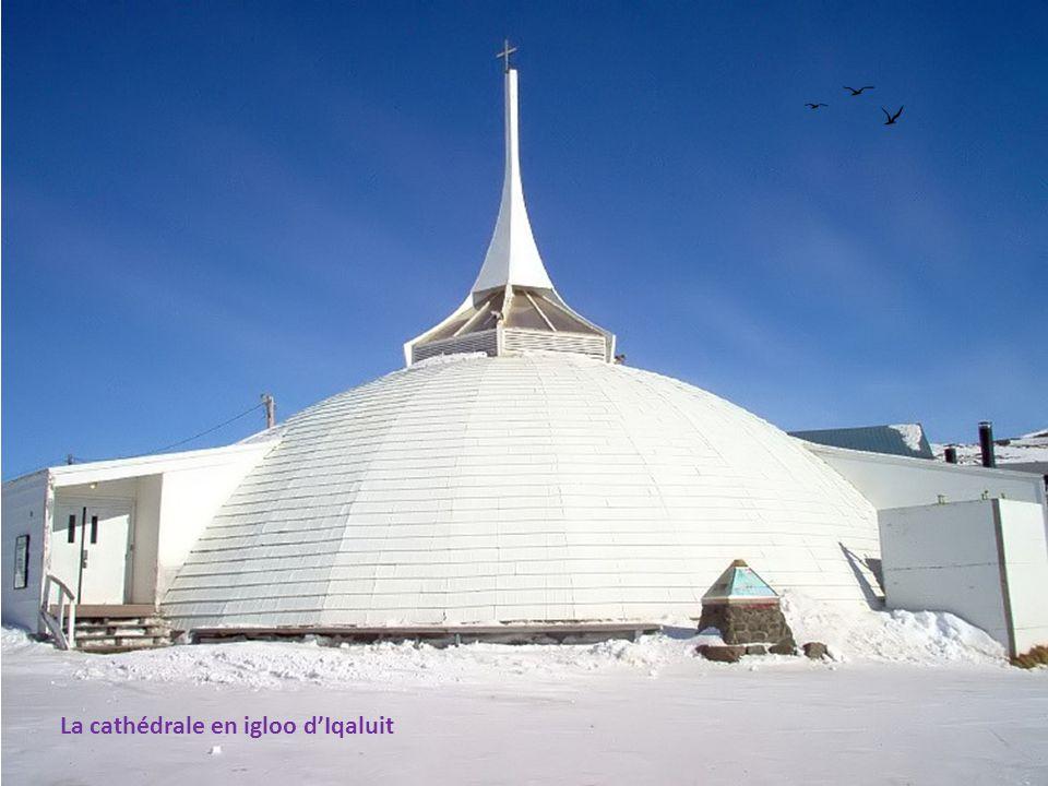 La cathédrale en igloo d'Iqaluit
