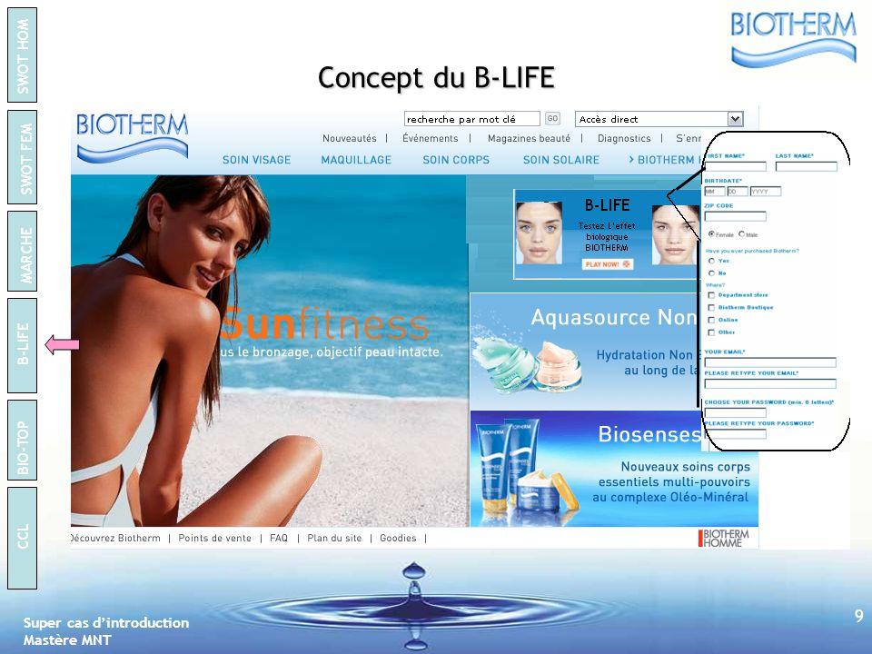 Concept du B-LIFE