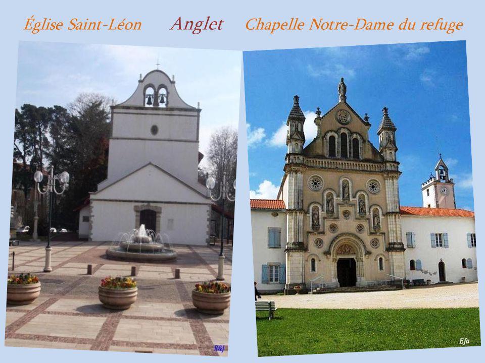 Église Saint-Léon Anglet Chapelle Notre-Dame du refuge