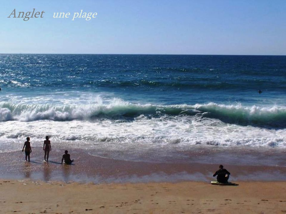 Anglet une plage
