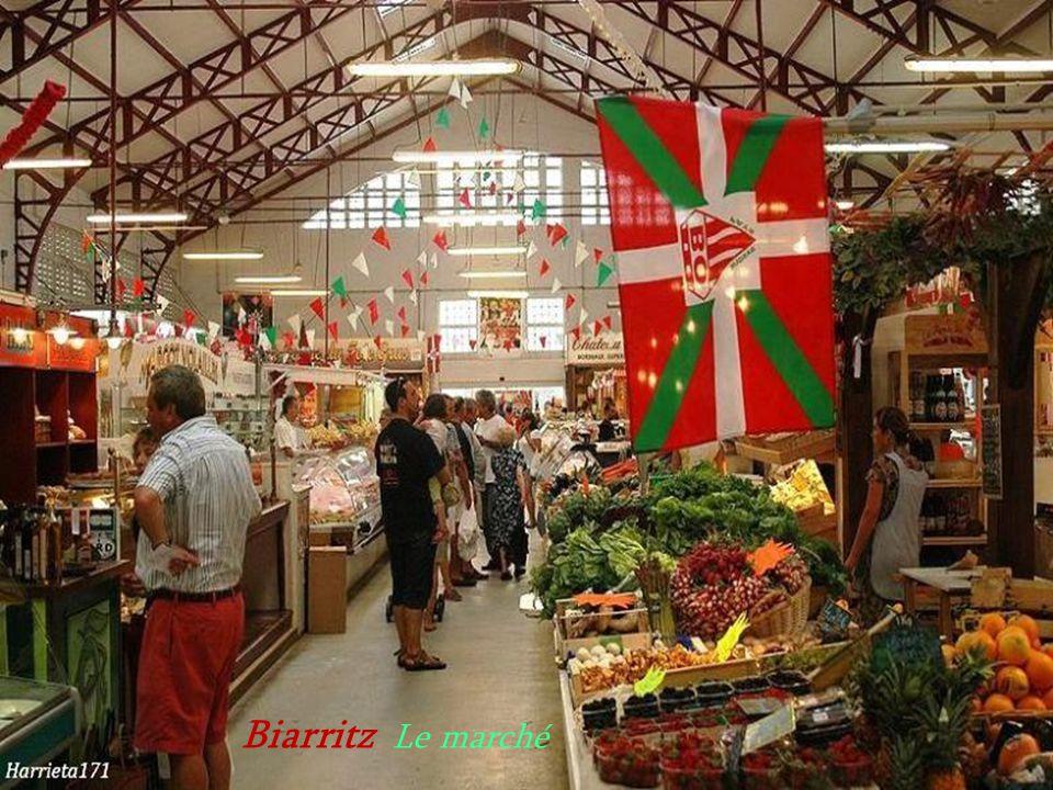 Biarritz Le marché