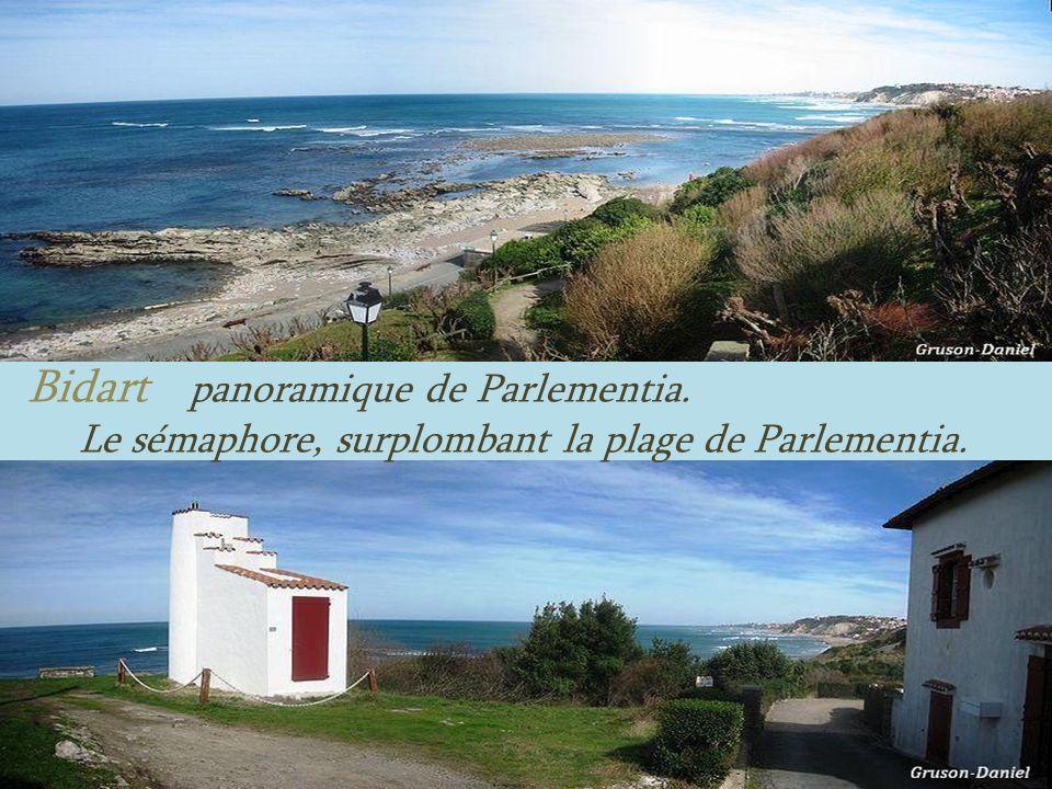 Bidart panoramique de Parlementia