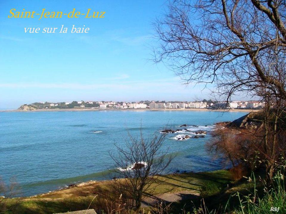 Saint-Jean-de-Luz . vue sur la baie