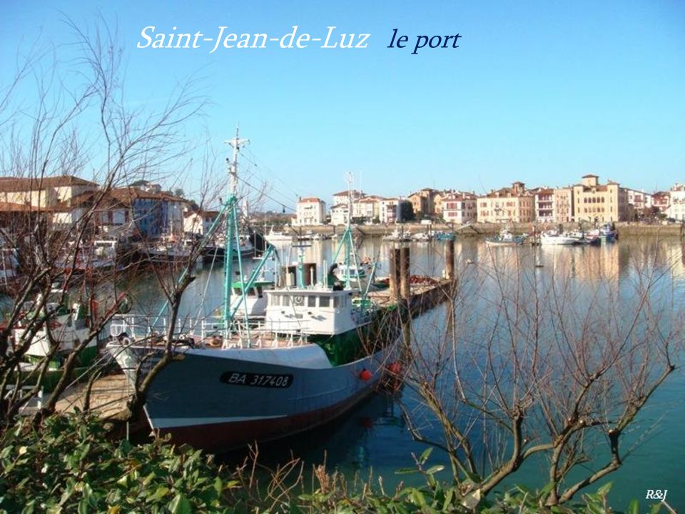 Saint-Jean-de-Luz le port