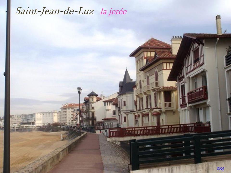 Saint-Jean-de-Luz la jetée