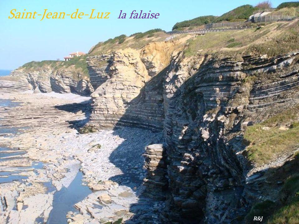 Saint-Jean-de-Luz la falaise