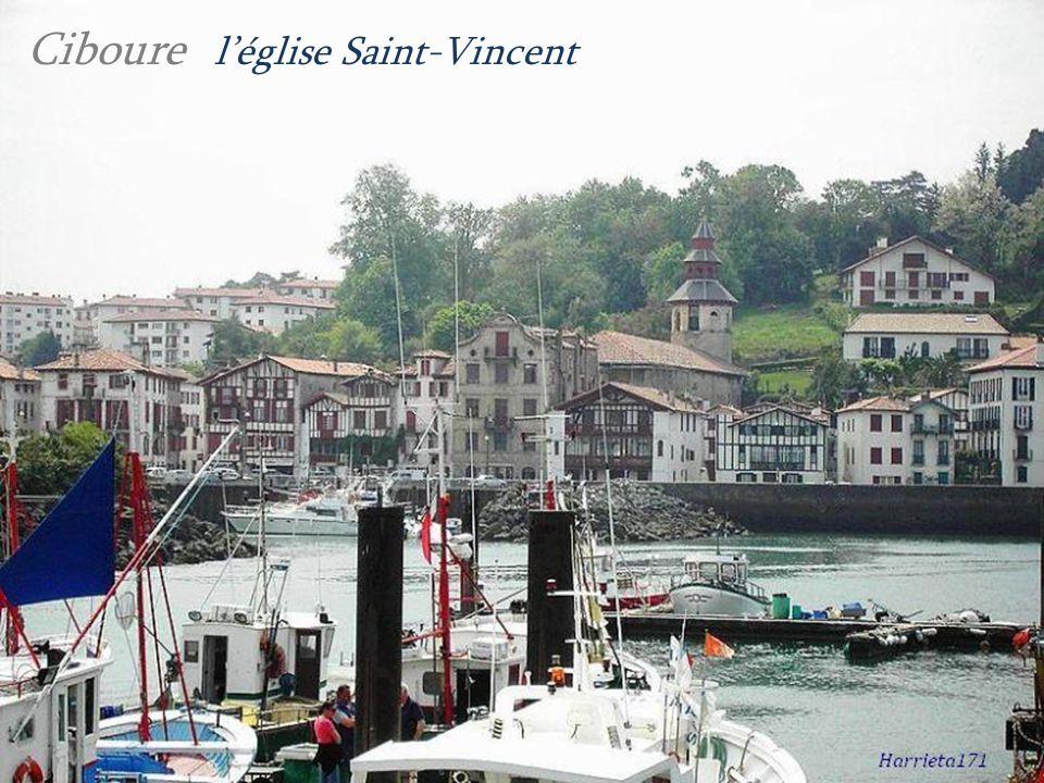 Ciboure l'église Saint-Vincent
