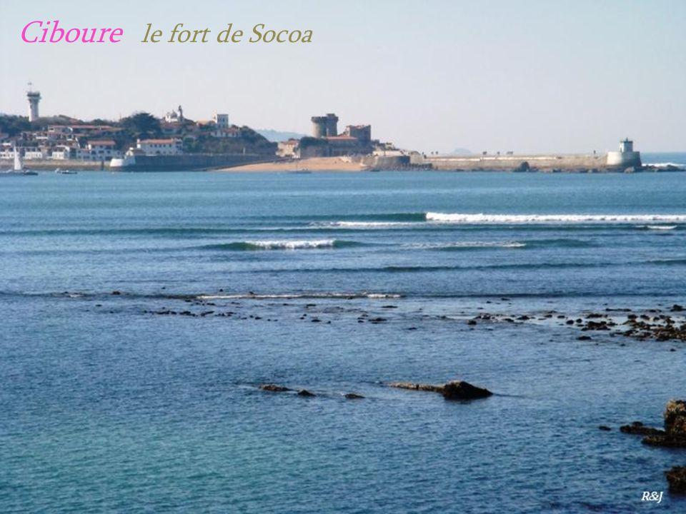 Ciboure le fort de Socoa