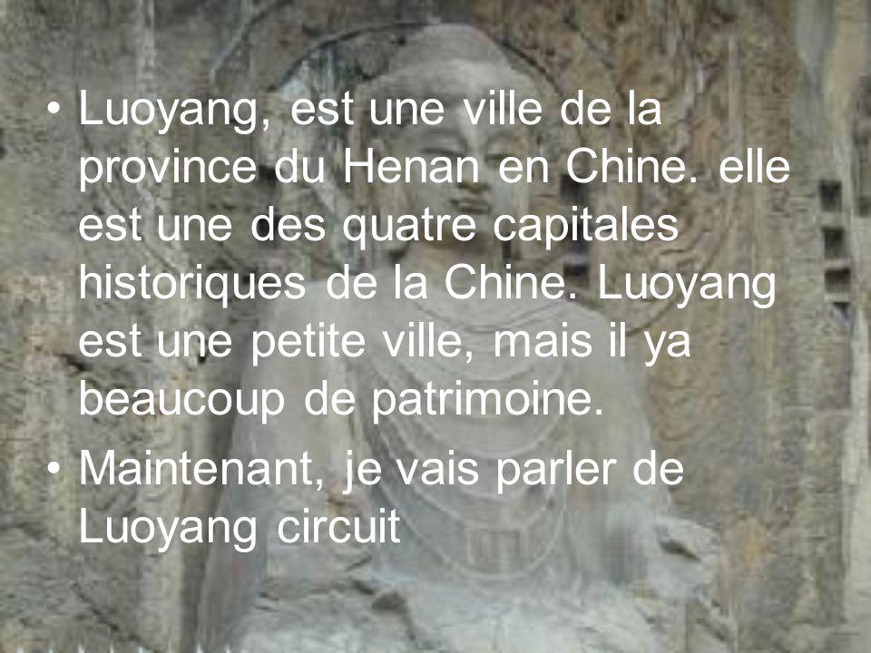 Luoyang, est une ville de la province du Henan en Chine