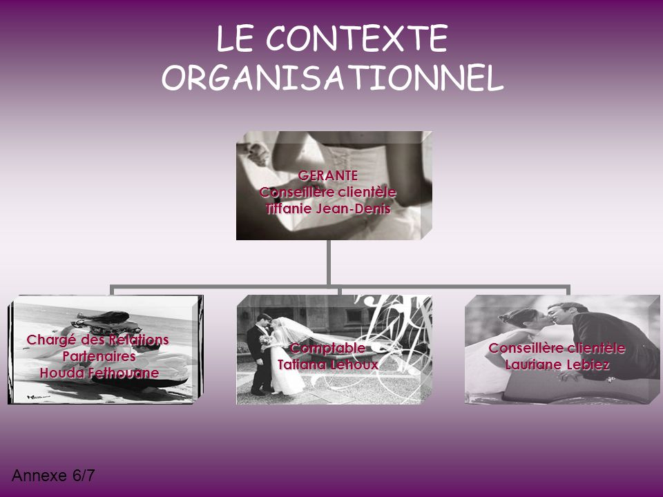 LE CONTEXTE ORGANISATIONNEL