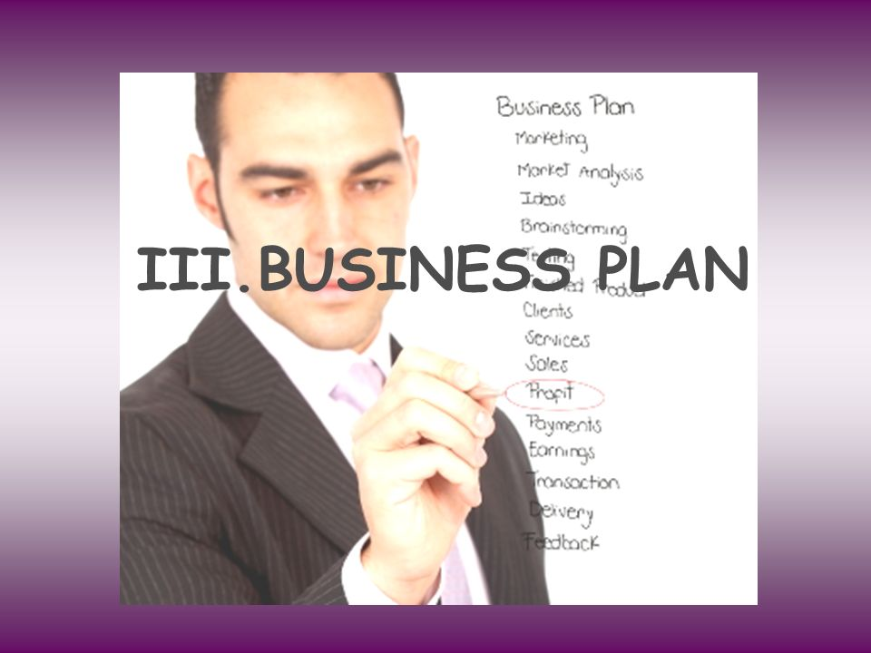 BUSINESS PLAN BUSINESS PLAN