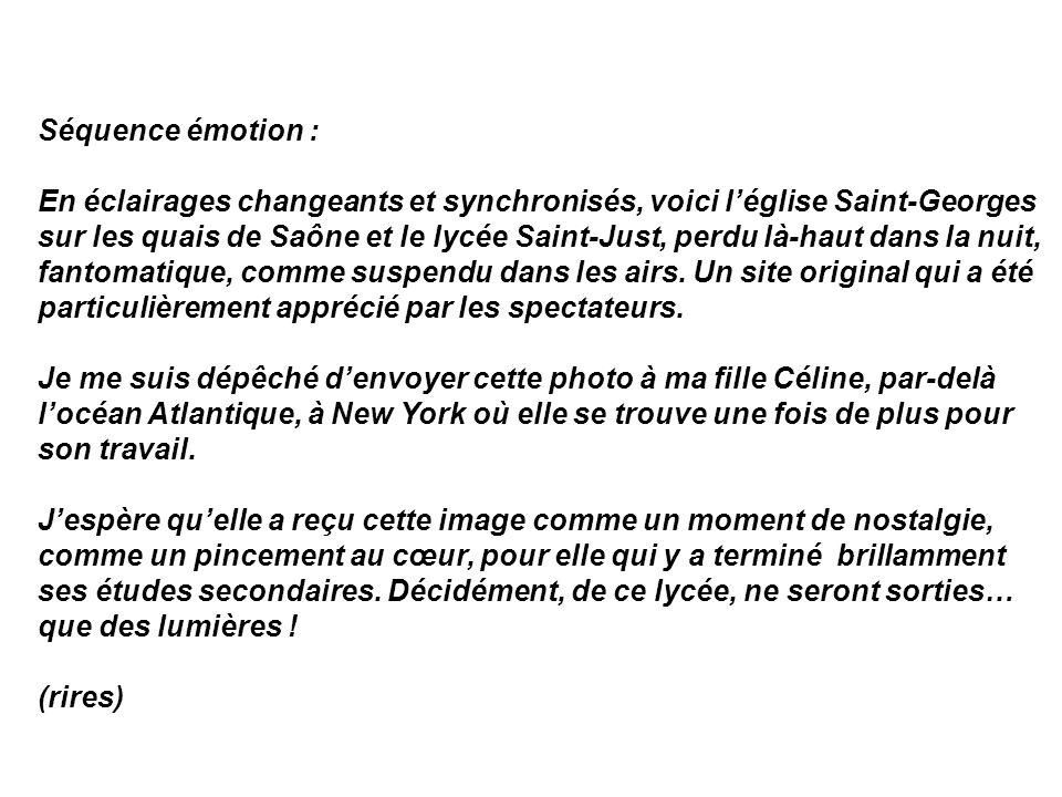 Séquence émotion :