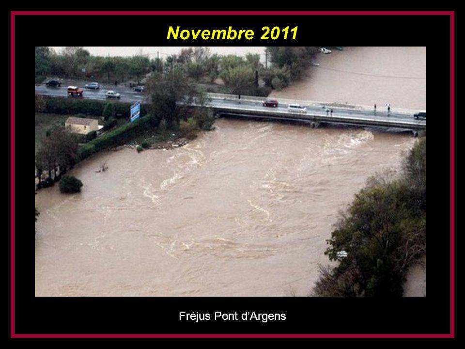 Novembre 2011 Fréjus Pont d'Argens