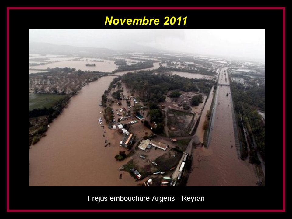 Fréjus embouchure Argens - Reyran