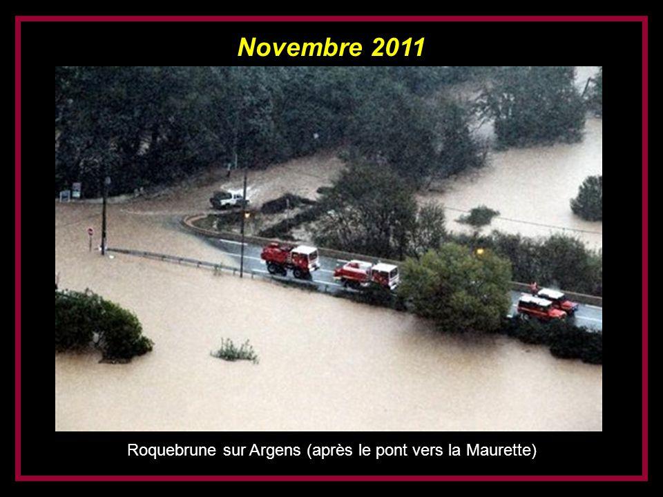 Roquebrune sur Argens (après le pont vers la Maurette)
