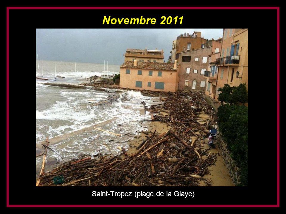 Saint-Tropez (plage de la Glaye)