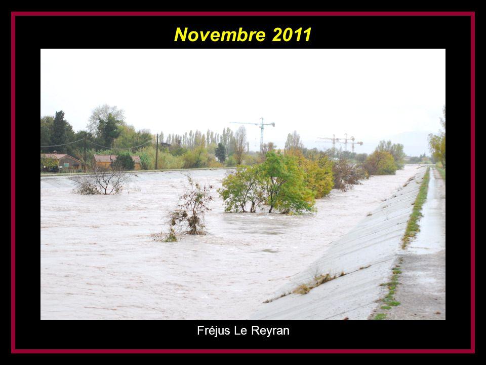 Novembre 2011 Fréjus Le Reyran