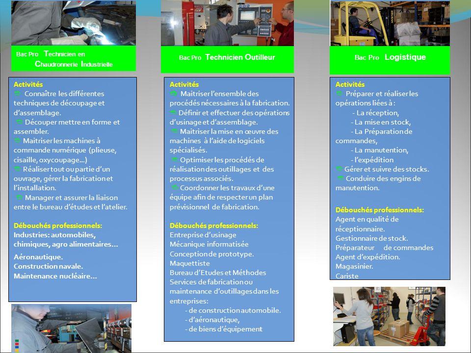 Chaudronnerie Industrielle Bac Pro Technicien Outilleur