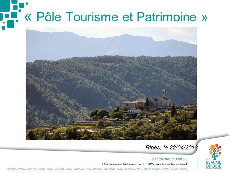 « Pôle Tourisme et Patrimoine »