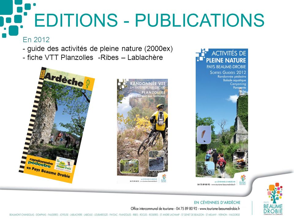 EDITIONS - PUBLICATIONS