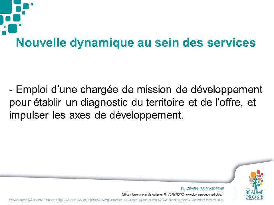 Nouvelle dynamique au sein des services