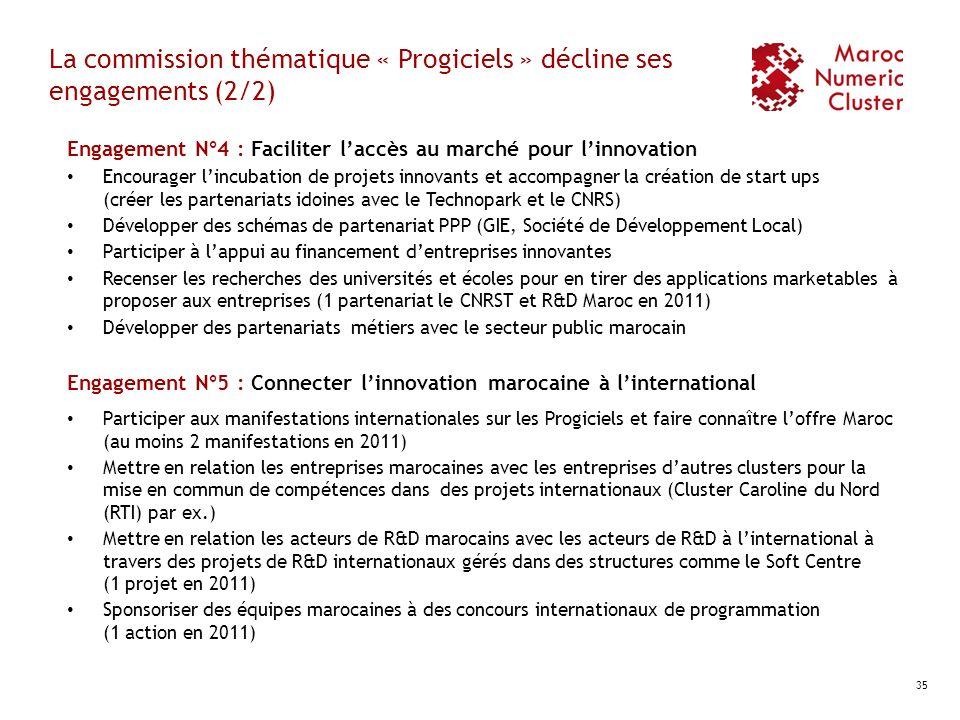 La commission thématique « Progiciels » décline ses engagements (2/2)