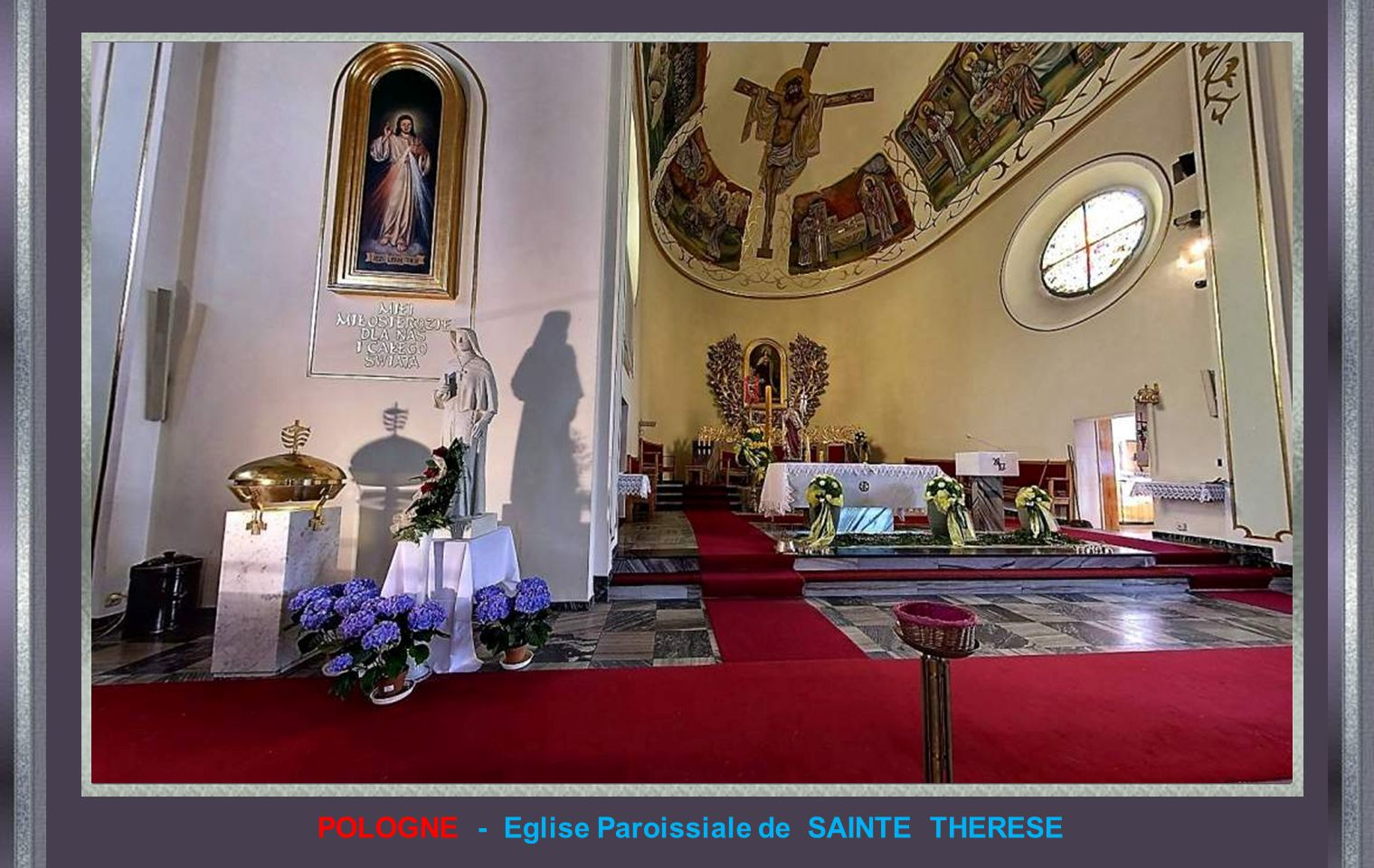 POLOGNE - Eglise Paroissiale de SAINTE THERESE