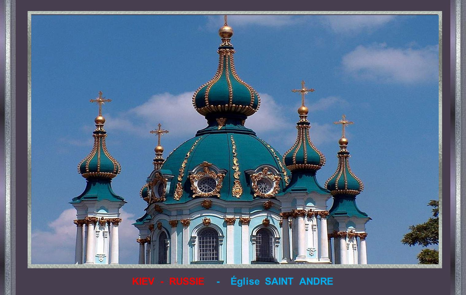 KIEV - RUSSIE - Église SAINT ANDRE