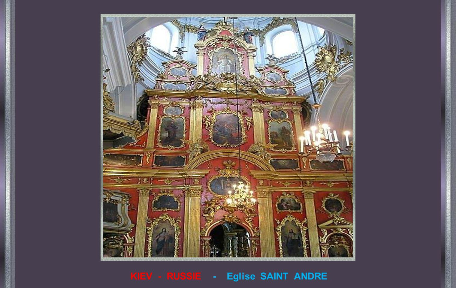 KIEV - RUSSIE - Eglise SAINT ANDRE