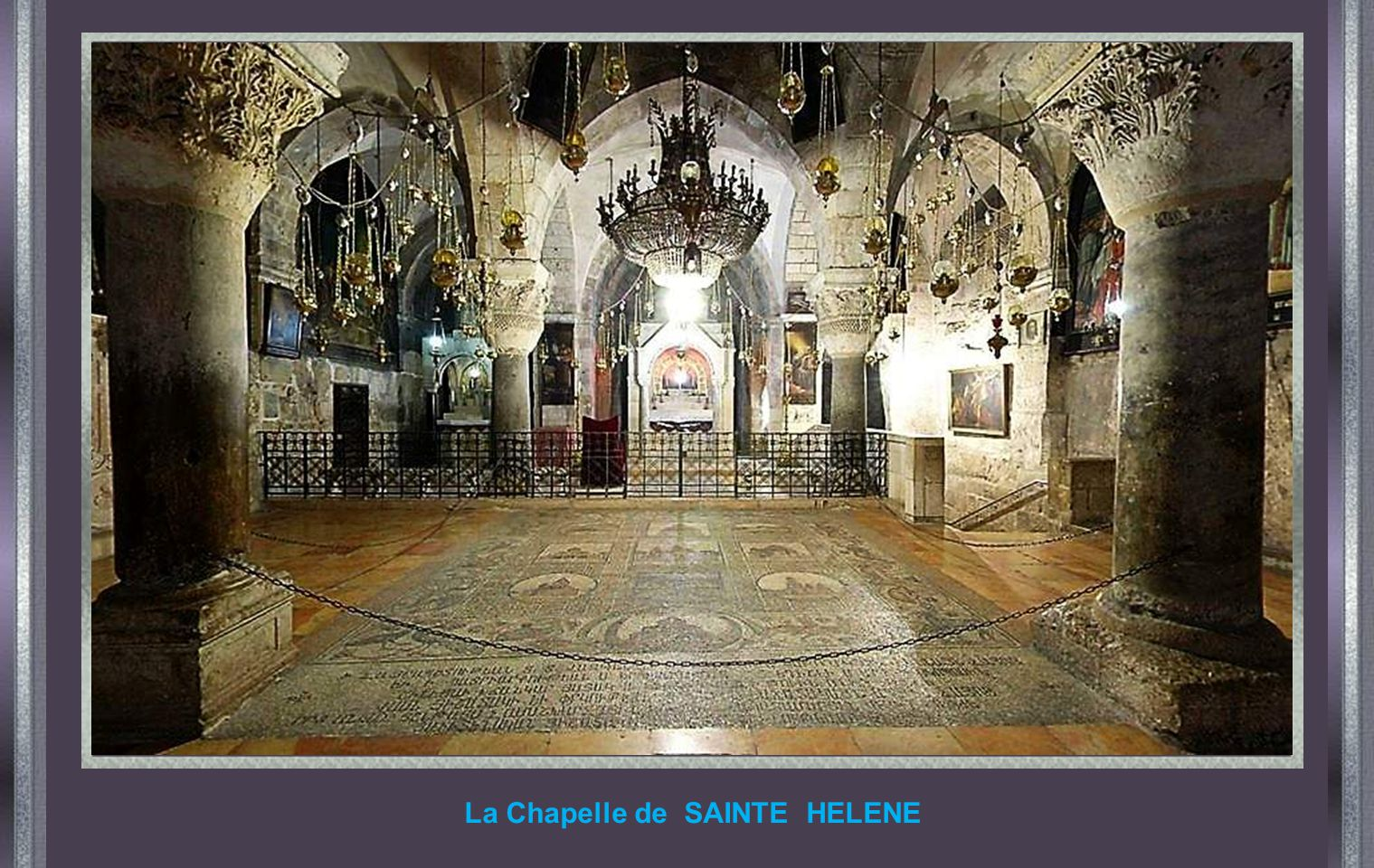 La Chapelle de SAINTE HELENE