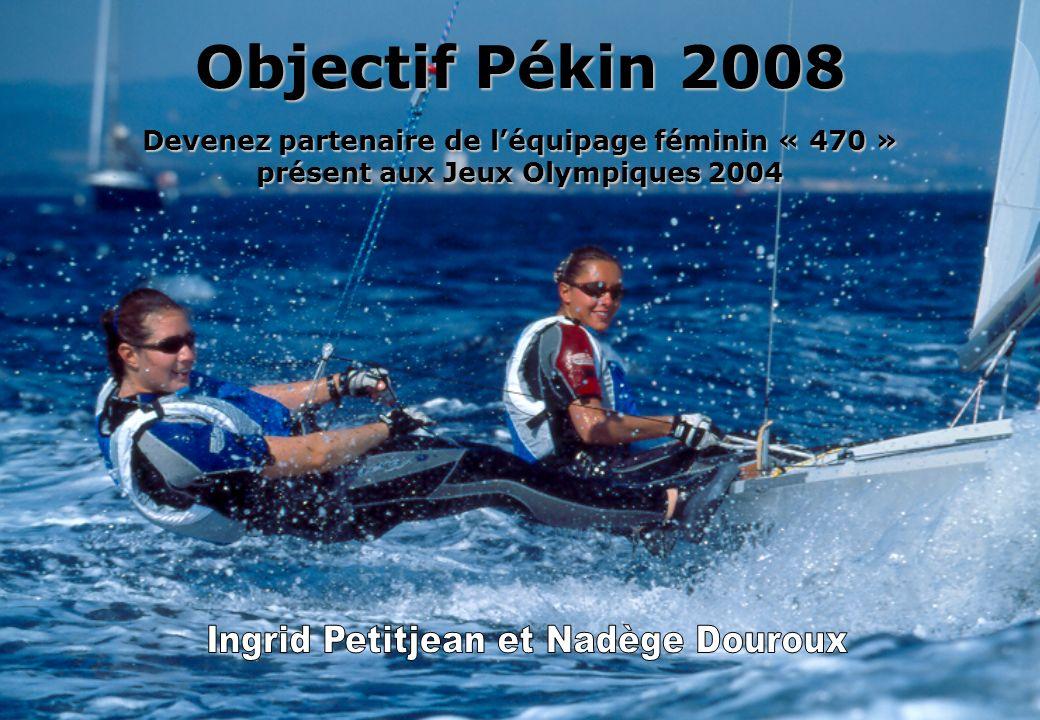 Objectif Pékin 2008 Devenez partenaire de l'équipage féminin « 470 »