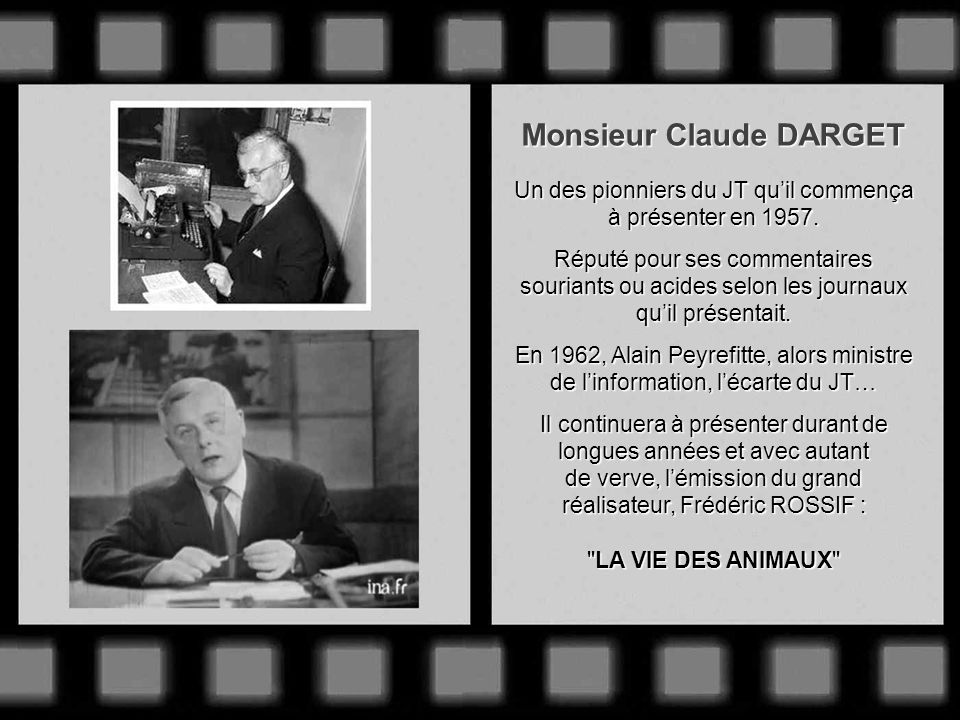 Monsieur Claude DARGET