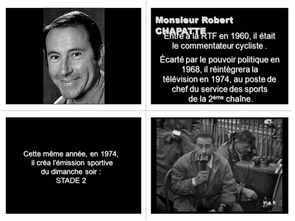 Monsieur Robert CHAPATTE