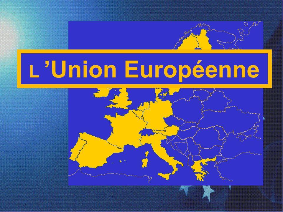 L 'Union Européenne 1