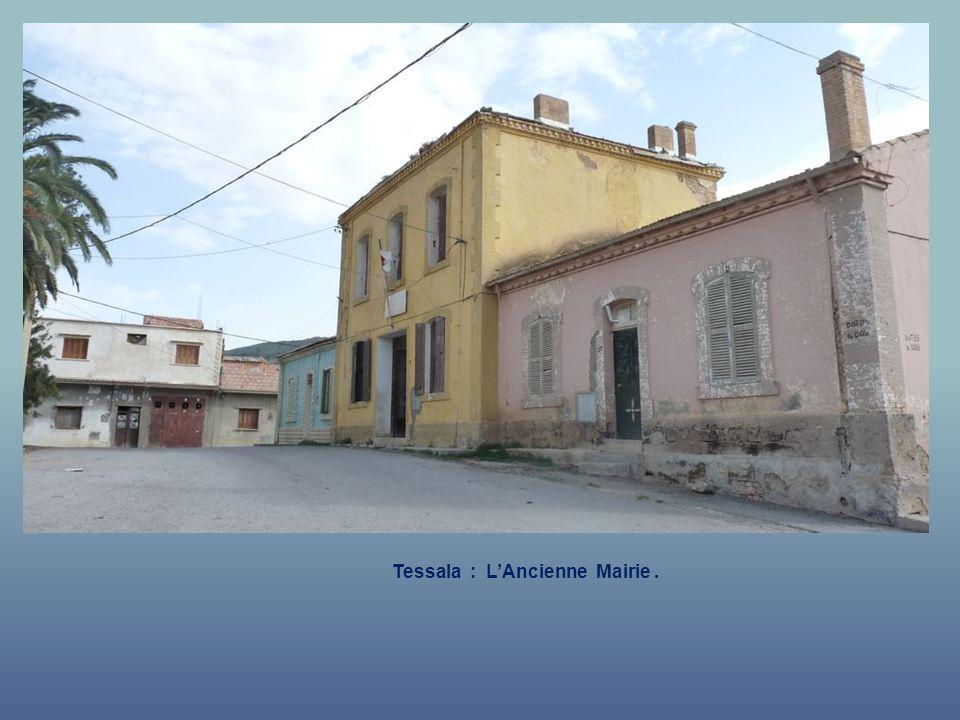Tessala : L'Ancienne Mairie .