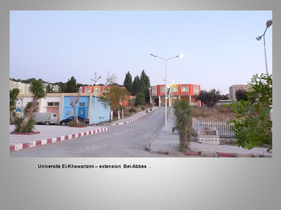 Université El-Khawarizmi – extension Bel-Abbès .
