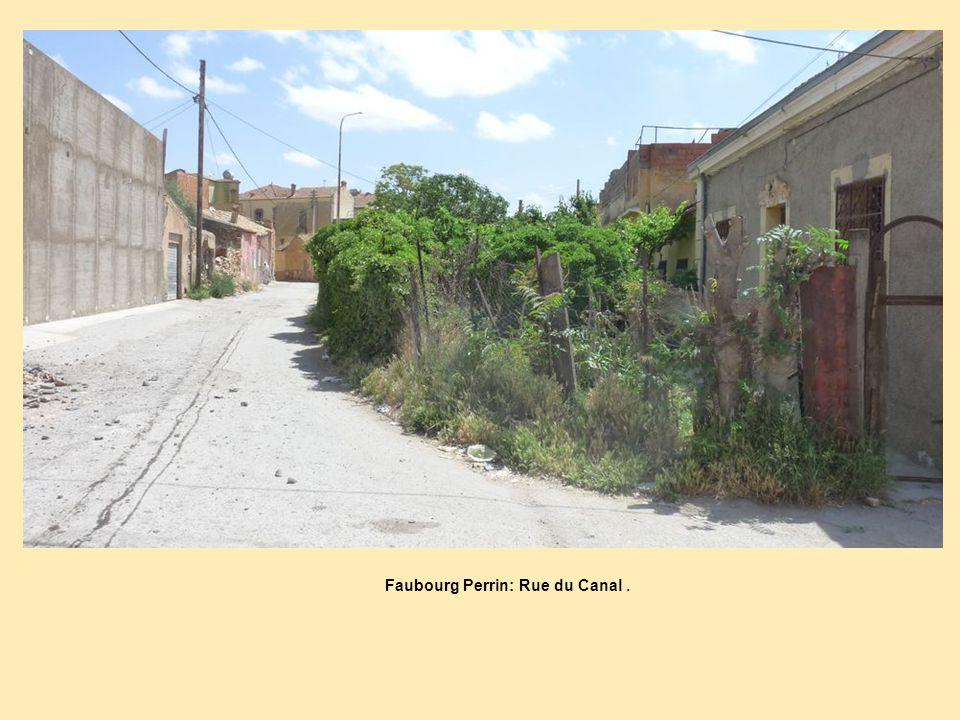 Faubourg Perrin: Rue du Canal .