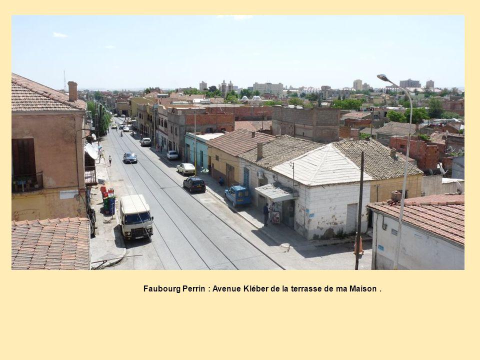 Faubourg Perrin : Avenue Kléber de la terrasse de ma Maison .