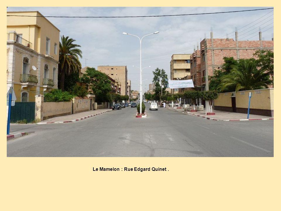 Le Mamelon : Rue Edgard Quinet .