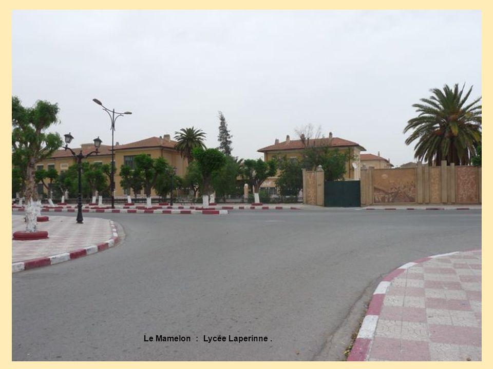 Le Mamelon : Lycée Laperinne .