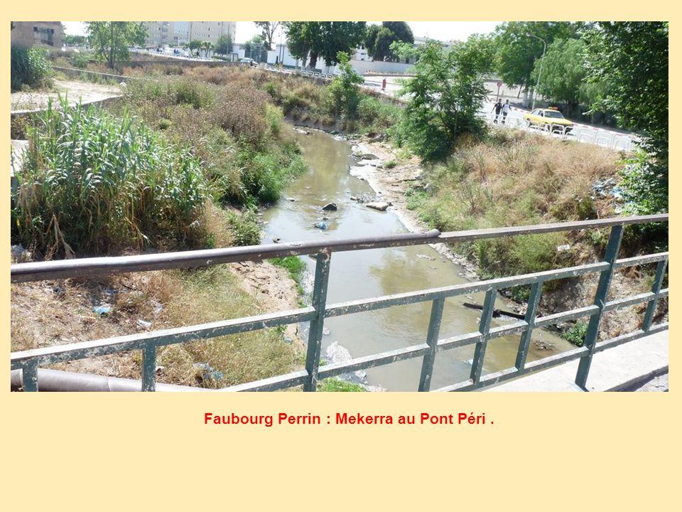 Faubourg Perrin : Mekerra au Pont Péri .