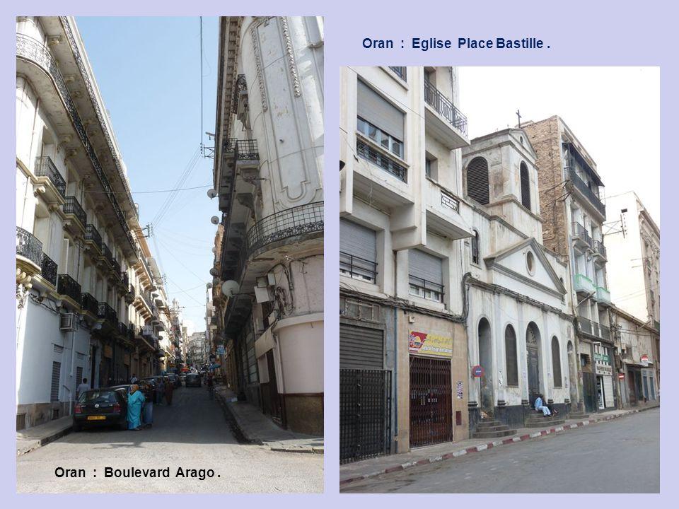 Oran : Eglise Place Bastille .